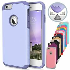 Matte Hybrid Shockproof Rubber Gel Hard Cover Case Skin for Apple iPhone 5&5s SE
