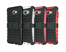 For Samsung Galaxy A9 Case Hard & Soft Protective Kickstand Hybrid Phone Cover