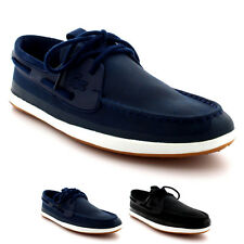 Mens Lacoste Landsailing 116 2 Cam Moccasin Leather Casual Boat Shoes UK 6-12