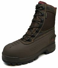 """Men's Wolverine® Jason 8"""" Coffee Waterproof Insulated EPX Work Boots Size"""