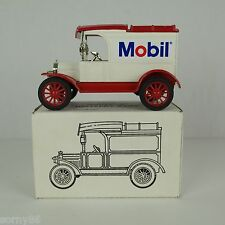 "ERTL DieCast Coin Bank Mobil Oil Gas Advertising 1913 Ford Model ""T"" Delivery"