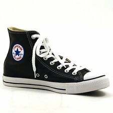 Converse All Star Chuck Taylor Hi Top Black White Leather New In Box 1S581
