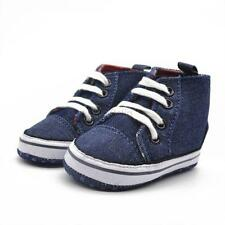 Newborn Toddler Baby Boys Girl Sneaker Soft Sole Crib Shoes Canvas Shoes 0-18M