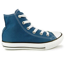 Youths Converse A Blue Chuck Taylor All Star Hi Trainers