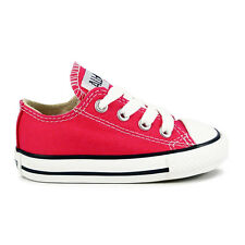 Infants Converse Chuck Taylor All Star Oxford Lo Raspberry Trainers