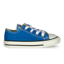 Infants Converse Chuck Taylor Ox Lo Light Sapphire Trainers