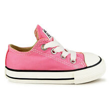 Infants Converse Chuck Taylor All Star Ox Pink Trainers