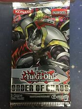 Yugioh Order of Chaos Booster Pack Unlimited Edition Sealed Fast Shipping!
