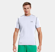 Under Armour Heatgear Mens Sonic Fitted S/S T-Shirt White [1236251-100] â