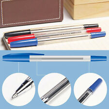 New 50pcs Ballpoint Pen Ball Point Pens Writing Stationery School Office Pens
