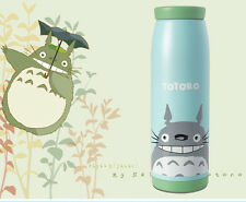 Totoro Stainless Steel Vacuum Cup Thermos Travel Coffee Insulated Flask Mug