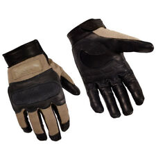 Wiley X Hybrid Gloves Mens Police Patrol Knuckle Guards Tactical Airsoft Coyote