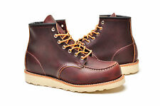 "Red Wing Men's Boots 6"" Inch 8138 Classic Moc Toe Brown"