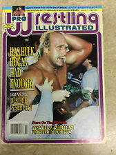 Pro Wrestling Illustrated PWI February 1992 Hulk Hogan w/pull out calendar
