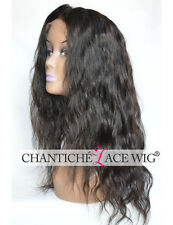 Brazilian Silk Base Remy Human Hair Lace Front Wigs Black Women Natural Wave Wig