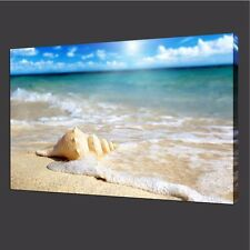 Seascape Poster Modern Canvas Home Blue Wall Art Photo Prints Colorful Decor