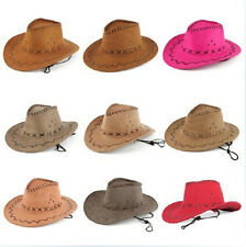 HOT child beach sun lovers straw hat big eaves western cowboy cap unisex