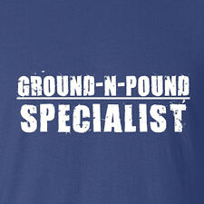 New MMA Shirt. Ground N Pound Specialist Fight clothing singlets all sizes