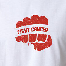 New Fight Cancer T-shirt Cancer Awareness pink breast cancer bulk ribbon 8-2XL
