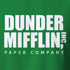 The Office T-SHIRT Dunder Mifflin Inc Paper Company dwight schrute scotts totts