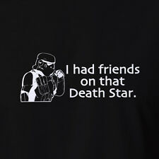 Funny Mens Storm Trooper stormtrooper T-shirt Singlet Costume Death Star Wars