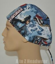 The First Avenger Surgical Scrub Cap Hat