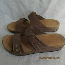 NEW Clarks Womens Leather Sandals ARTISAN Slip On comfort fit  PERRI ISLAND