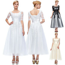 PLUS SIZE Lace Mother of the Bride Evening Formal Party WEDDING Dresses Prom New