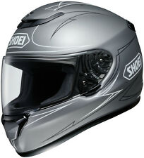 Shoei Qwest Full-Face Motorcycle Helmet - WANDERLUST TC-11 (Silver) Adult XS-2XL