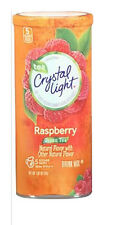 Crystal Light Drink Mix Raspberry Green Tea 10 Quarts per canister 1 cannister