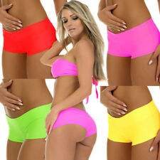 HIGH WAIST HOTPANTS SEXY PANT NEON PINK RED WHITE BLACK or green