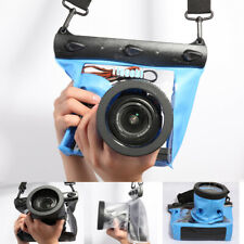 Tteoobl Waterproof DSLR SLR Camera Underwater Case Pouch Dry Bag For Canon Nikon