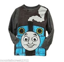 New OLD NAVY Boy's Shirt Size 12 18 months THOMAS THE TANK ENGINE Tee Top Gray