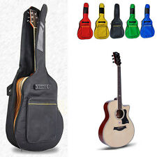 New Acoustic Guitar Double Strap Padded Guitar Soft Case Gig Bag Backpack