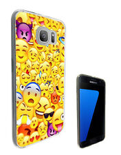 C889 Smiley Emoji Faces Case Cover For Samsung Galaxy J1 J3 J5 A3 A5 S6 S7 Edge