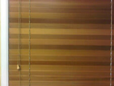 Blinds Venetian Western Red Cedar 45mm Slats Clear Lacquer Various drops & leng