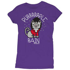 David and Goliath Womens T-shirt - Purrrrrple Rain
