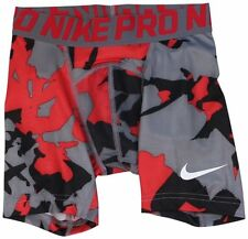 "Nike Dri Fit Boy's Pro Combat Core 5"" Compression Camo Shorts Save 30%!! Large"