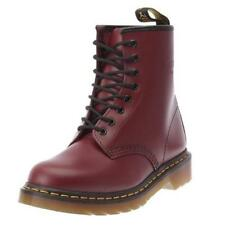 Dr. Martens 1460 Cherry Red Eye Classic Smooth Leather Boots with Air Wair Sole