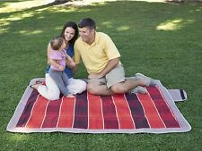 Picnic Rug Blanket Flooring Rug Waterproof Backing Camping Outdoor 152 x 177cm