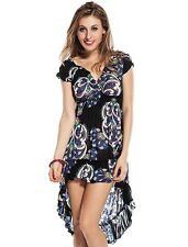 Ladies Party Maxi Dress Sexy Long Party Cocktail Dresses Size 10 12 14