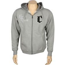 Crooks And Castles Cant Stop The Crooks Zip Up Hoody (heather) 86CC0136HEA