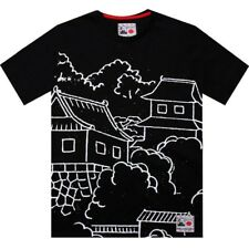 Reebok x Rolland Berry Toyko Japan Yen City art Tee (black) fashion shirt