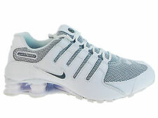 CLASSIC MENS NIKE SHOX NZ RUNNING SHOES TRAINERS WHITE / COOL GREY / COOL GREY