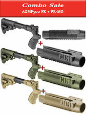 Tactical GRIP, BUTTSTOCK with Optional Cheek Rest & RAIL SYSTEM for MOSSBERG 500