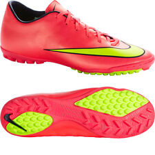 NIKE MERCURIAL VICTORY V TF INDOOR SOCCER TURF FUTSAL CR7 SHOE Hyper Punch/Metal