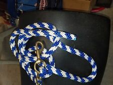 Lot of 5 lead ropes
