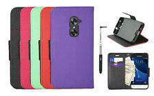 Straight Talk ZTE Max Duo 4G LTE Case,Wallet Pouch Case PU Leather Stand + Pen