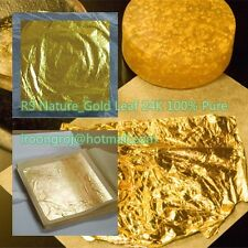 Gold Leaf 24K 100% Pure, Facial Mask Spa, Anti-Wrinkle, Food grade