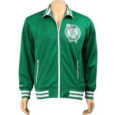 Mitchell And Ness Boston Celtics NBA Preseason Warm Up Track Jacket (green) 6025